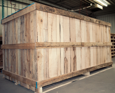 Wooden Crates - Laurentide Lumber Co.