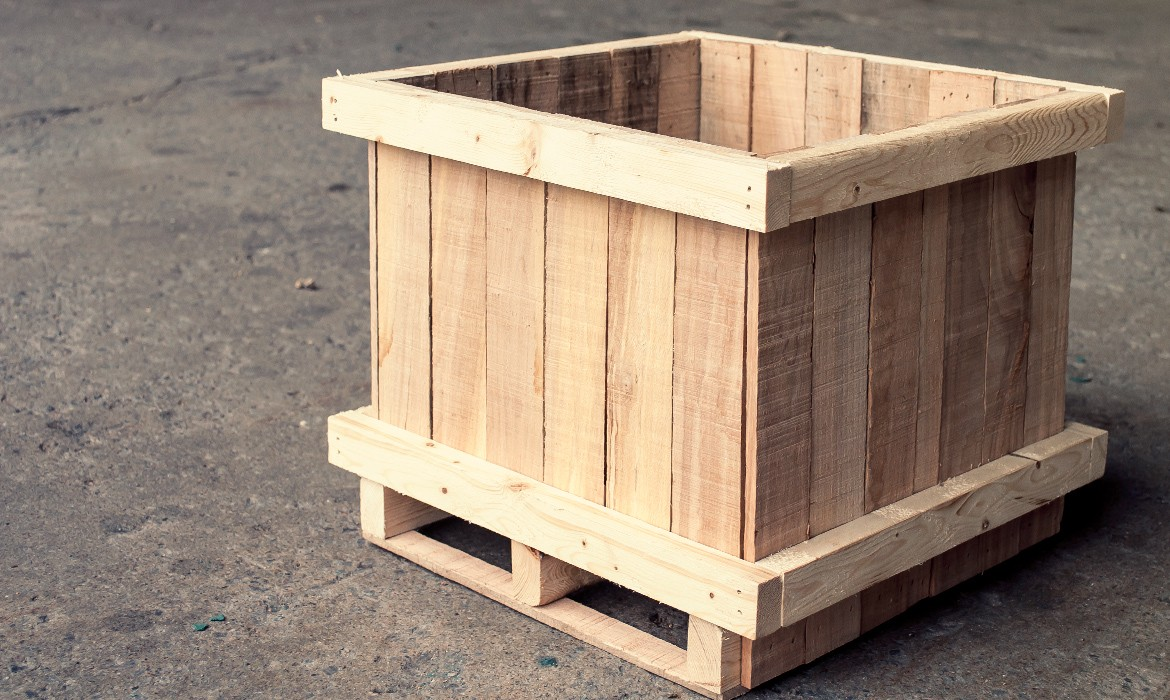 Wooden Crates – Products – Laurentide Lumber Co.