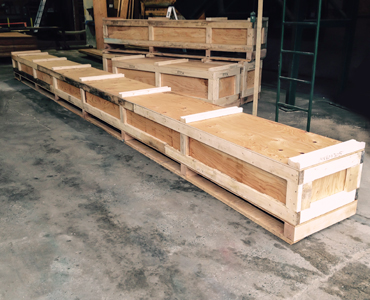 Non-Standard Wooden Crates - Laurentide Lumber Co. Products