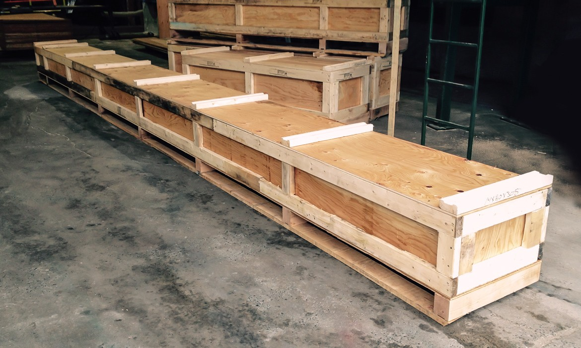 Non-Standard Wooden Crates – Products – Laurentide Lumber Co.